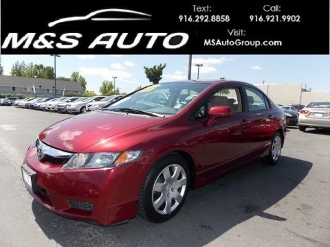 Pre-Owned 2010 Honda Civic Sdn LX FWD 4dr Car