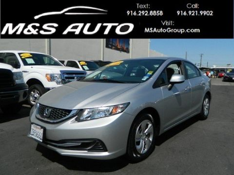 Pre-Owned 2013 Honda Civic Sdn LX FWD 4dr Car