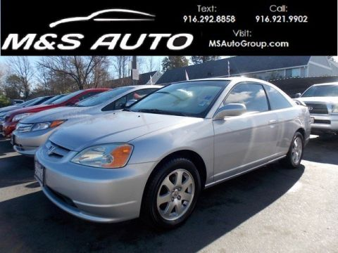 Pre-Owned 2003 Honda Civic EX FWD 2dr Car