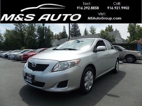 Pre-Owned 2009 Toyota Corolla Sedan 4D FWD 4dr Car