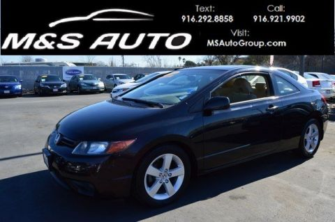 Pre-Owned 2006 Honda Civic Cpe EX Coupe 2D FWD 2dr Car