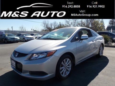Pre-Owned 2012 Honda Civic Cpe EX-L FWD 2dr Car