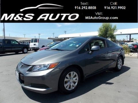 Pre-Owned 2012 Honda Civic Cpe LX FWD 2dr Car