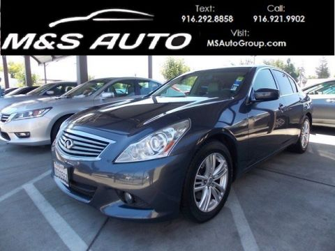 Pre-Owned 2012 Infiniti G37 Sedan G37 Journey Sedan 4D RWD 4dr Car
