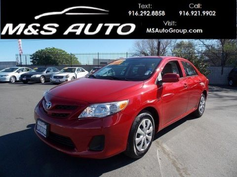Pre-Owned 2013 Toyota Corolla L Sedan 4D FWD 4dr Car